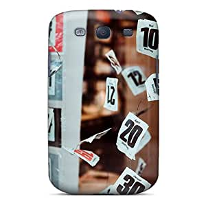 Hot New Numbers Case Cover For Galaxy S3 With Perfect Design