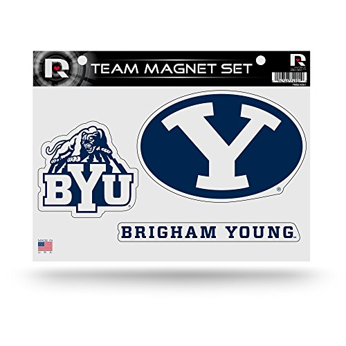 NCAA Byu Cougars NCAA Team Magnet Sheet, Blue, 11