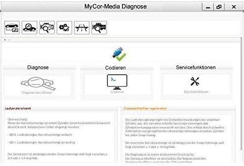 zu INPA NCSEXPERT Tool32 Rheingold und Software MyCor-Media OBD2 Diagnose Set f/ür BMW komp