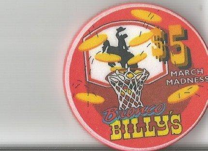 - $5 broncos billys march madness colorado cripple creek colorado casino chip obsolete