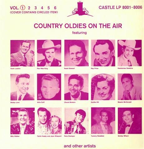 Billy Slim Jeans - Various Artists-Country Oldies On The Air Vol.1