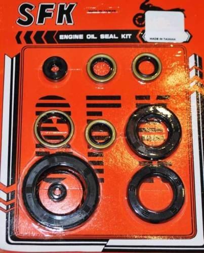 - New Kawasaki KZ650 KZ750 KZ 650 750 Engine Oil Seal Set Kit Seals Crank Drive