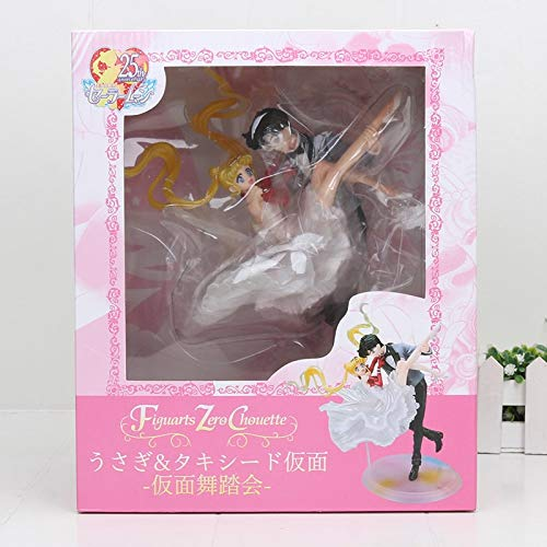 Allegro Huyer Anime Sailor Moon Action Figure figuarts Zero chouette Princess Serenity Tsukino Usagi Tuxedo mask Mamoru Chiba Figure Toys Doll with Box