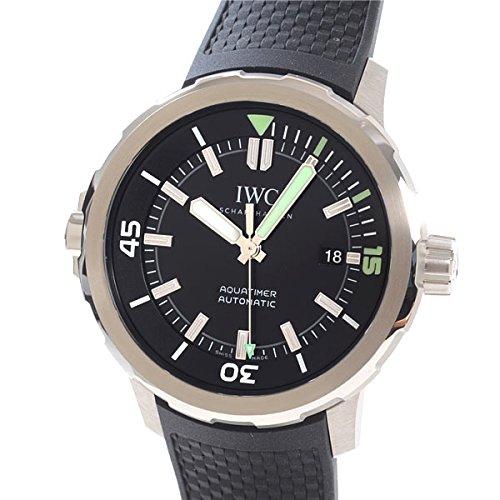 [アイダブリューシー]IWC 腕時計 アクアタイマーオートマティック IW329001 中古[1302775]ブラック 付属:国際保証書 ボックス B07DCHSPCH