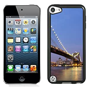 New Personalized Custom Designed For iPod Touch 5th Phone Case For Brooklyn Bridge Phone Case Cover