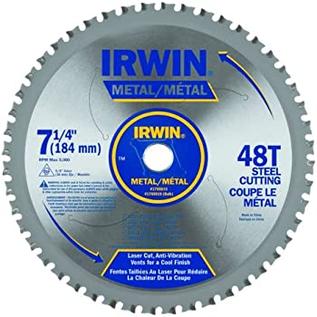 Irwin tools metal cutting circular saw blade 7 14 inch 48t irwin tools metal cutting circular saw blade 7 14 inch greentooth Image collections