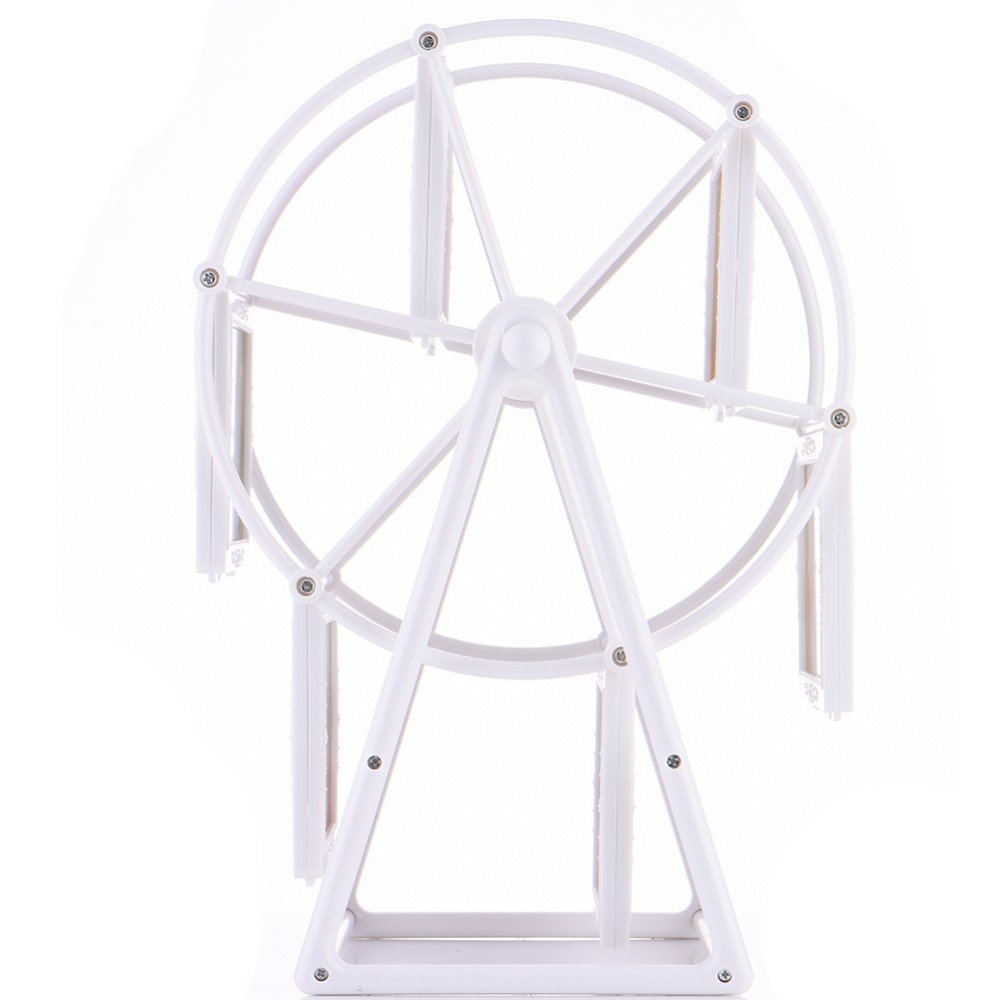 Kglobal 5Inch Photo Frame Rotating Ferris Wheel Windmill Shape 12 ...