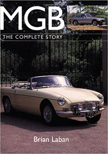 mgb the complete story autoclassics brian laban 9781861267528
