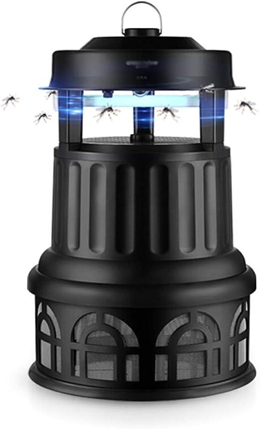 XINGZHE Repelente de Mosquitos de la lámpara al Aire Libre Patio Jardín Inhalación Repelente de Mosquitos Repelente de Mosquitos al Aire Libre, Negro Trampa de Mosquitos (Color : Black): Amazon.es: Hogar