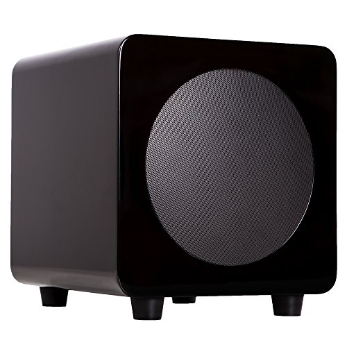 "Kanto sub6 6"" 80W Powered Subwoofer Gloss Black SUB6GB"