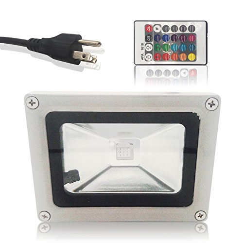 Led 10W Rgb Colour Changing Flood Light Ip65 - 9