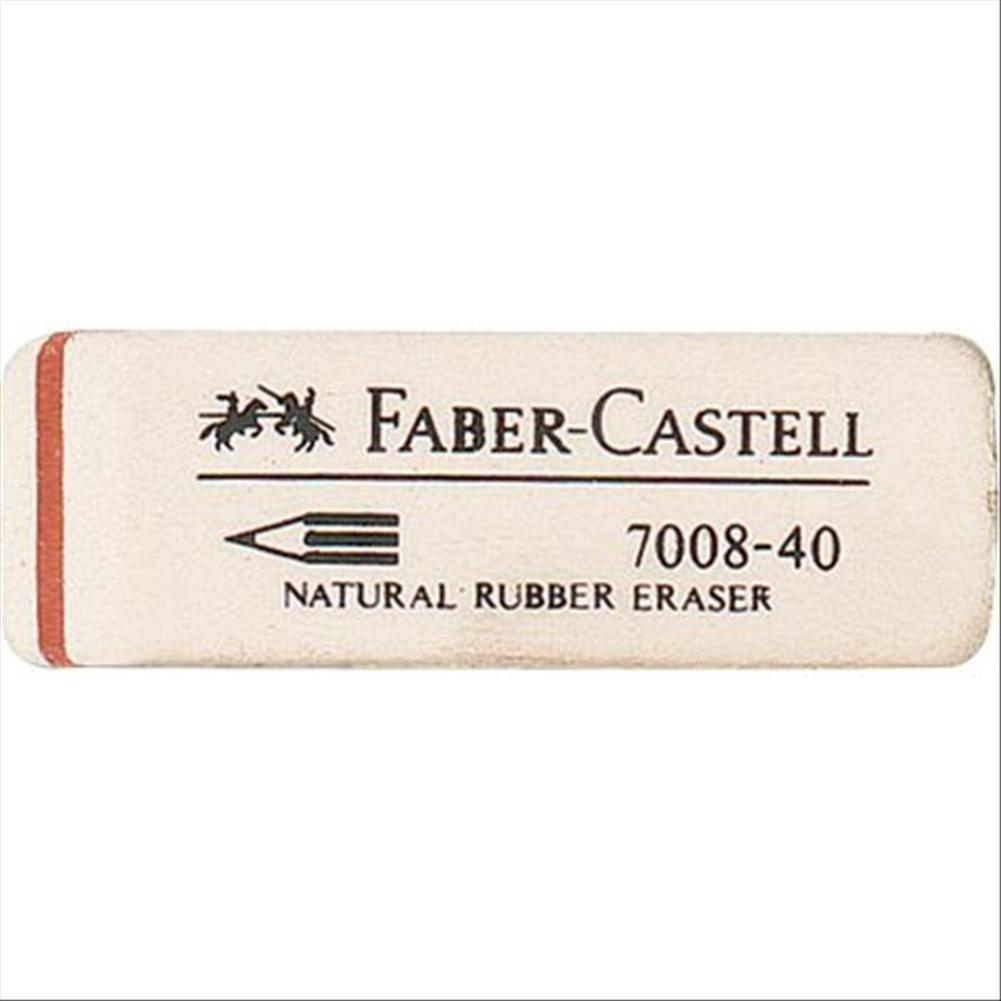 Faber-Castell 180840 Bianco gomma per cancellare