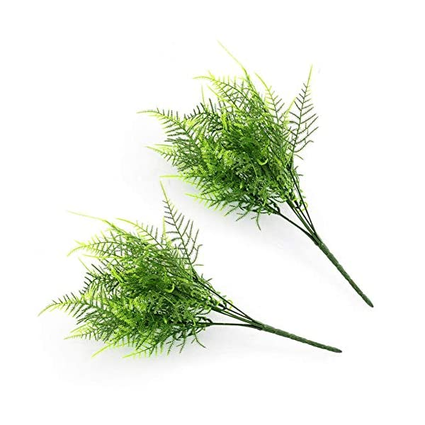 Goodjobb-Verisimilar-7-Branches-Artificial-Fern-Plant-Floral-Decor-Green-Decorative