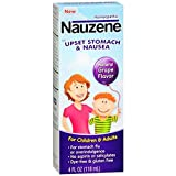 Nauzene Kids Upset Stomach & Nausea Relief Liquid, Grape, 4 Ounce by Nauzene