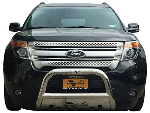 VANGUARD VGUBG-0952ASS 11-17 Ford Explorer Bull Bar With Skid Plate S/S (Ford Explorer Bumper)