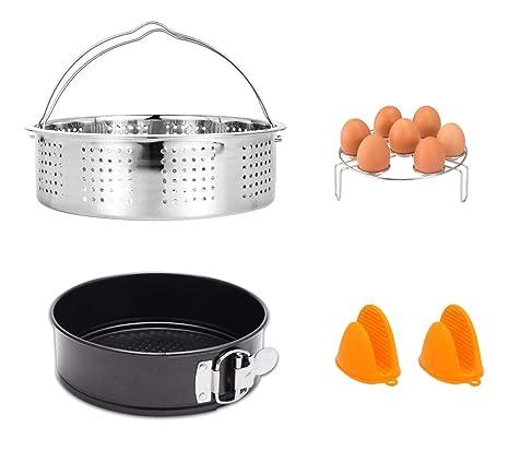 Amazon.com: HapWay Juego de 5 accesorios de cocina con cesta ...