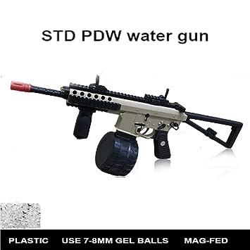 SHUNDATONG Toy Gun STD PDW Gel Ball Blaster Water Crystal Toy Gun
