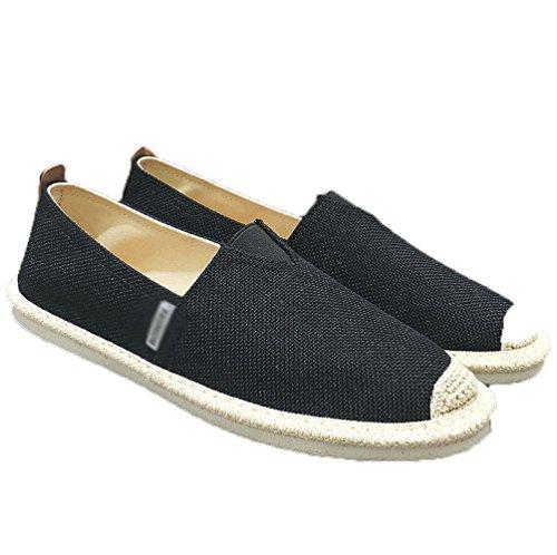 pigri casual tela scarpe vecchio un scarpe uomo scarpe Pechino uomo Estate WFL da Dpf2905black da di di uomo da pedale lino scarpe PBCznxvqt
