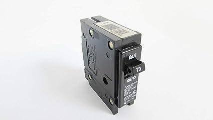 Cutler Hammer Br170 Circuit Breaker 1 Pole 70 Amp