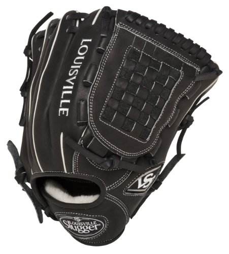 Louisville Slugger 12-Inch FG Pro Flare Baseball Infielders Gloves, Black, Right Hand Throw