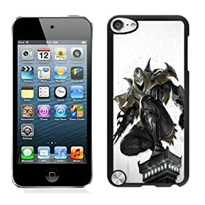Fashionable And Unique Designed Case With Zed League of Legends Black For iPod Touch 5 Phone Case
