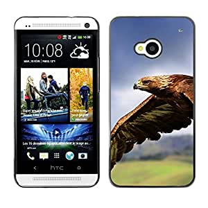 Stuss Case / Funda Carcasa protectora - Eagle Flying Magnificent Big Bird Nature - HTC One M7