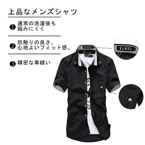 シャツ 半袖 アメカジファッション メンズ 夏 トップス ボタン シャツ カットソー カジュアル 上着 TOOCH
