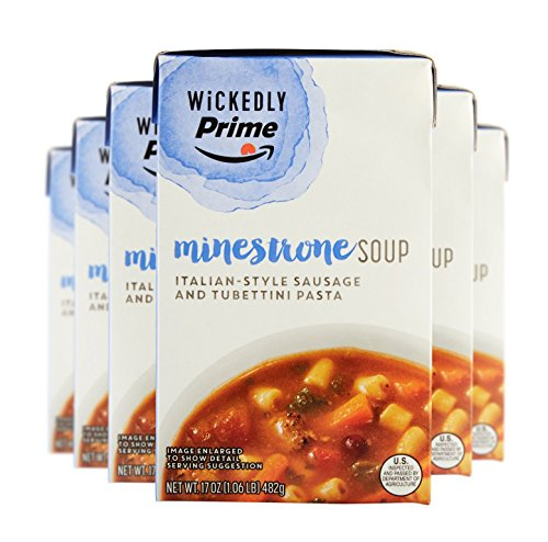 Where to find wickedly prime minestrone soup?