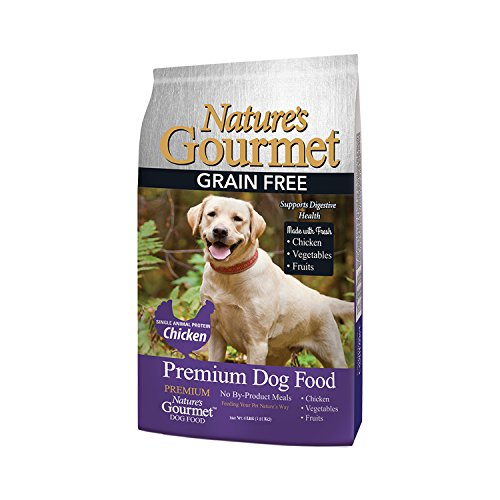 Nature's Gourmet Dog Food, Premium Grain Free Adult Dry Dog Food, 4 lb Bag