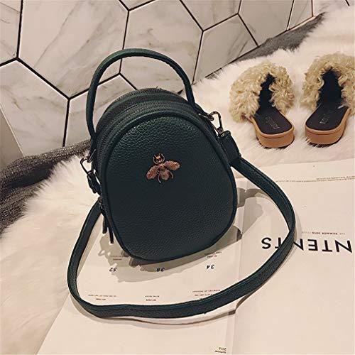 Green Clutch Party Sacs Black Mini Purse Femmes 14cm9cm18cm Messenger xRZznqq1
