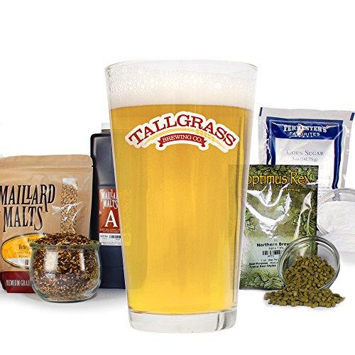 Beer Belgian Dubbel - Tallgrass Velvet Rooster (Belgian Tripel Ale) - Homebrew Beer Recipe Kit - Malt Extract