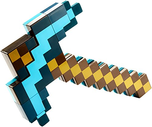 Minecraft Disfraz Espada y Pico de Diamante Transformable