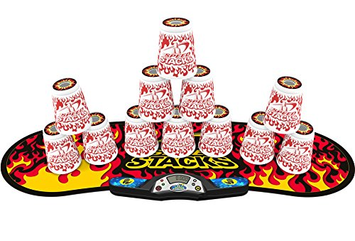 SPEED STACKS Competitor - White Flame w/ Black Flame Mat by Speed Stacks