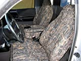 60 40 seat cover camo - Durafit Seat Covers F286-CL-V - Ford Ranger XLT Pickup 60/40 Bench Seat Custom Seat Covers With Opening Console, Conceal Camo Automotive Velor