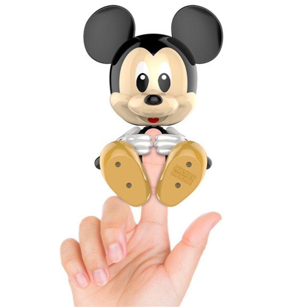 Finger Toy Baby Disney Mickey Mouse - Aberry Kids Pet - Interactive Baby Pet,Child's Best Friend,USB Charged(Aberry)