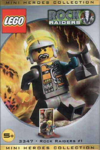 LEGO Rock Raiders 3347 Mini Heroes Collection #1