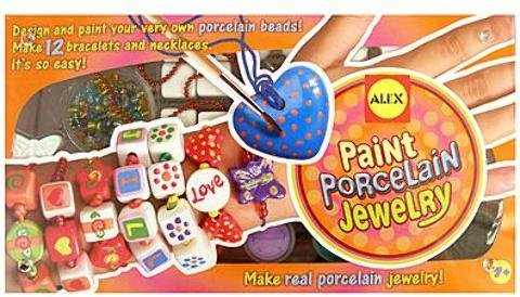 (Alex Toys Paint Porcelain Jewelry 1 pcs sku# 1831929MA)