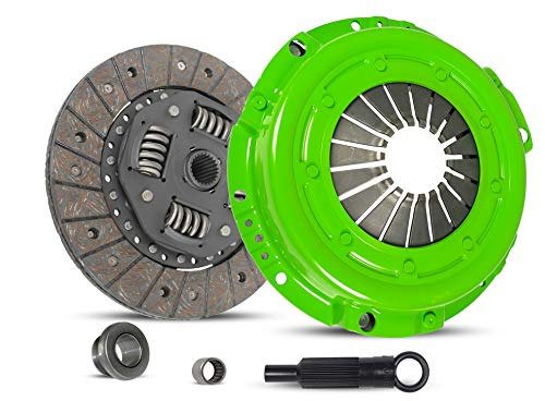 Clutch Kit Set Works With Ford Ranger Bronco II Eddie Base S XL XLT XLS 1983-1984 2.0L 2.3L L4 GAS SOHC 2.8L V6 GAS OHV 2.2L L4 DIESEL OHV Naturally Aspirated (Stage 1)