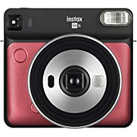 Fujifilm Instax SQUARE SQ6 Film Camera (Ruby Red)
