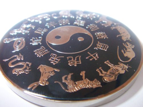 Black Year of the Ox Poker Weight
