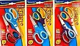 Soft Grip Scissors Blunt / Pointed - 5 Inches 48 pcs sku# 1882637MA