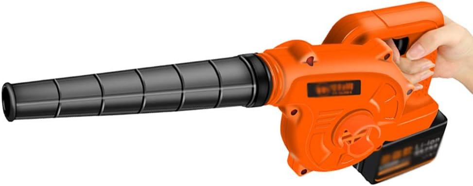 Soplador de Hojas Eléctrico Inalámbrico 2 en 1 Soplador Aspirador de Velocidad Variable Máquina de Limpieza Liviana de Mano para Muebles, Automóviles, Pelo de Mascotas, Hojas, Limpieza de Talleres: Amazon.es: Hogar