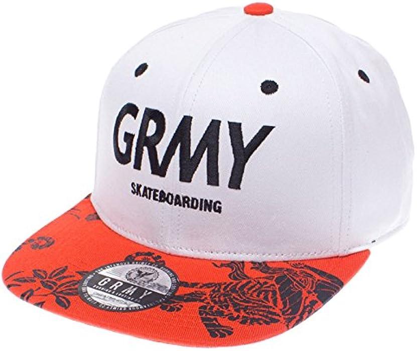 Grimey Gorra Hunter Snapback SS16 White -Snapback