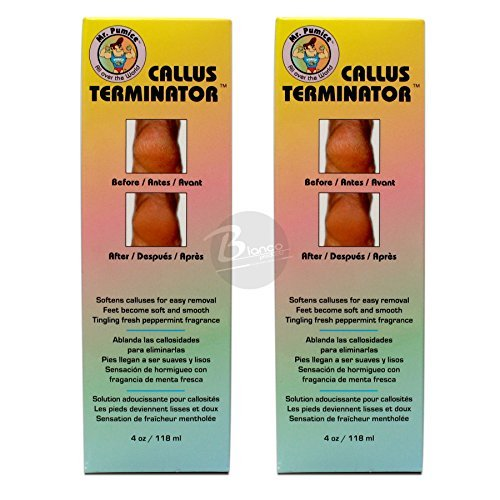 (Mr. Pumice Callus Terminator 4oz 2 PC)