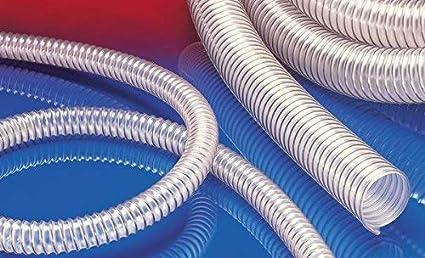 35500400000-0000001000 Durchmesser 40 mm robuster Mehrzweck PU-Absaugschlauch Antistatischer 10 m