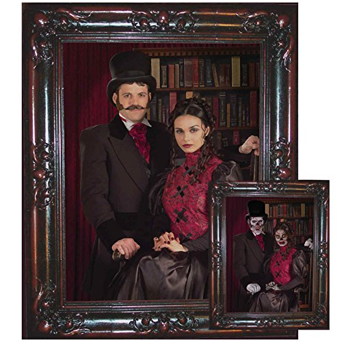 Forum Novelties Haunted Lenticular Couple Moving Picture Frame, 12 x 13