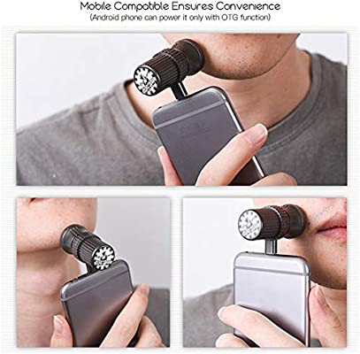 4D afeitadora portátil USB de viaje para smartphone, afeitado ...