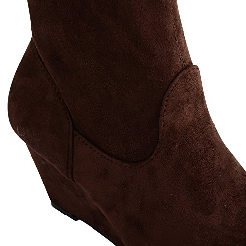 mujer para Botas Marrón Footwear marrón Sensation wgYTqt