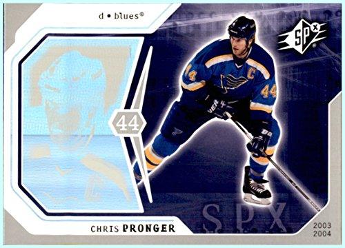 2003-04 SPx #86 Chris Pronger ST. LOUIS BLUES