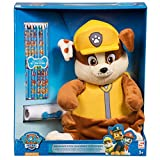 Paw Patrol 'Rubble' Plush WIth Crayons